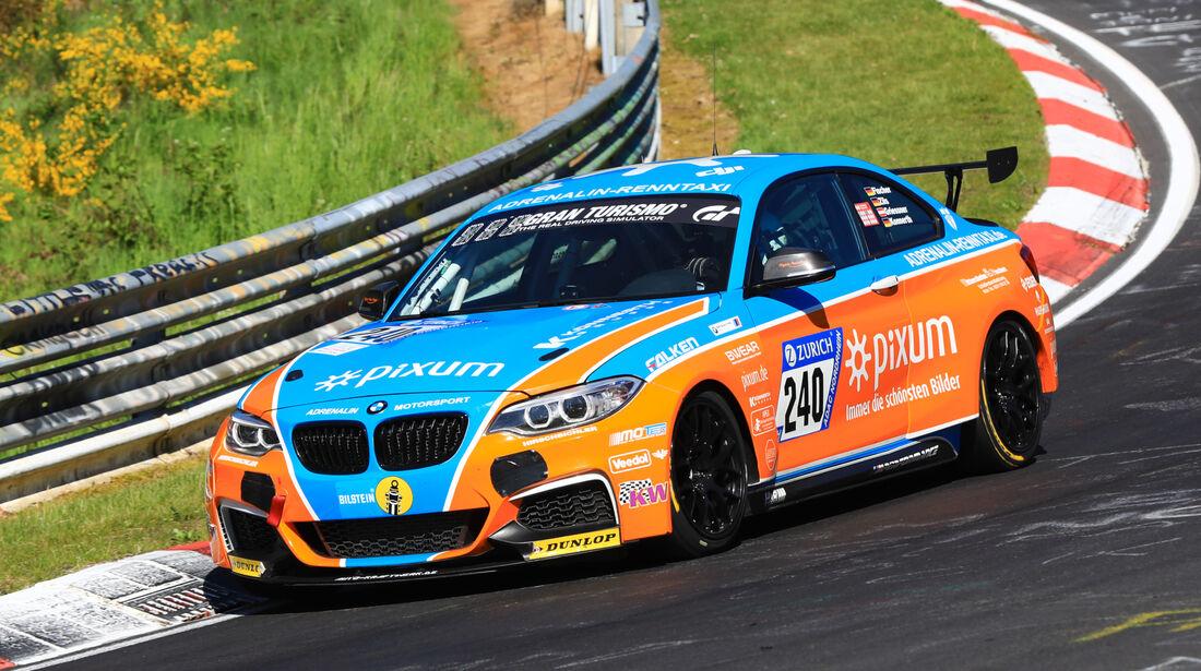 24h-Rennen Nürburgring 2017 - Nordschleife - Startnummer 240 - BMW M235i Racing - Pixum Team Adrenalin Motorsport - Klasse Cup 5