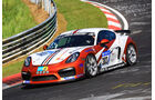 24h-Rennen Nürburgring 2017 - Nordschleife - Startnummer 303 - Porsche Cayman GT4 CS - Schmickler Performance - Klasse Cup 3