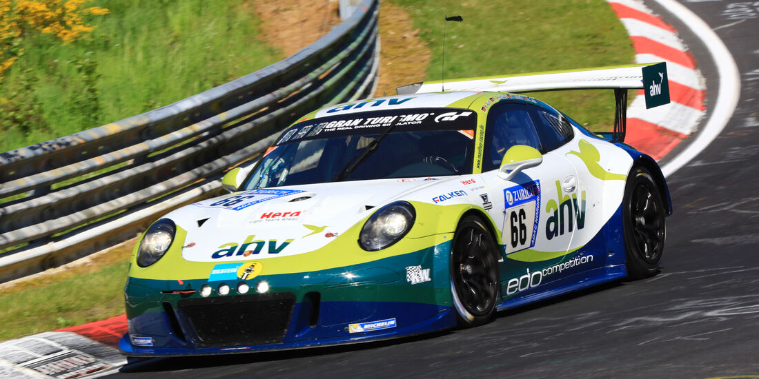 24h-Rennen Nürburgring 2017 - Nordschleife - Startnummer 66 - Porsche 911 GT3 Cup MR - Manthey Racing - Klasse SP 7