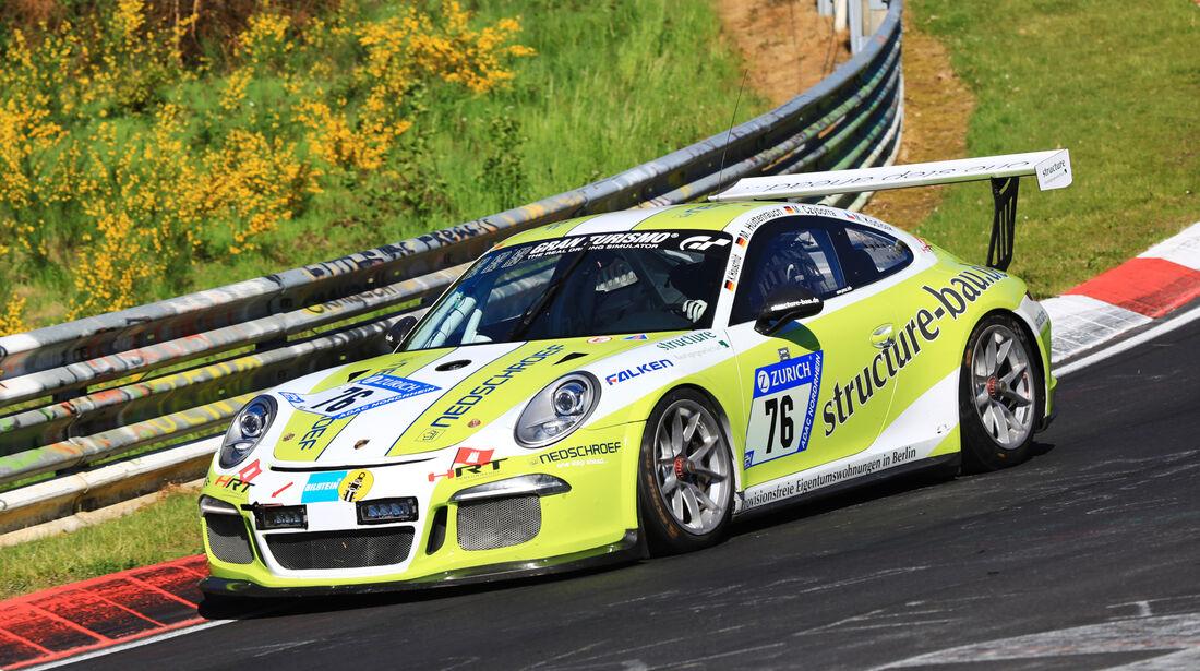 24h-Rennen Nürburgring 2017 - Nordschleife - Startnummer 76 - Porsche 911 GT3 Cup HRT - HRT-Performance - Klasse SP 6