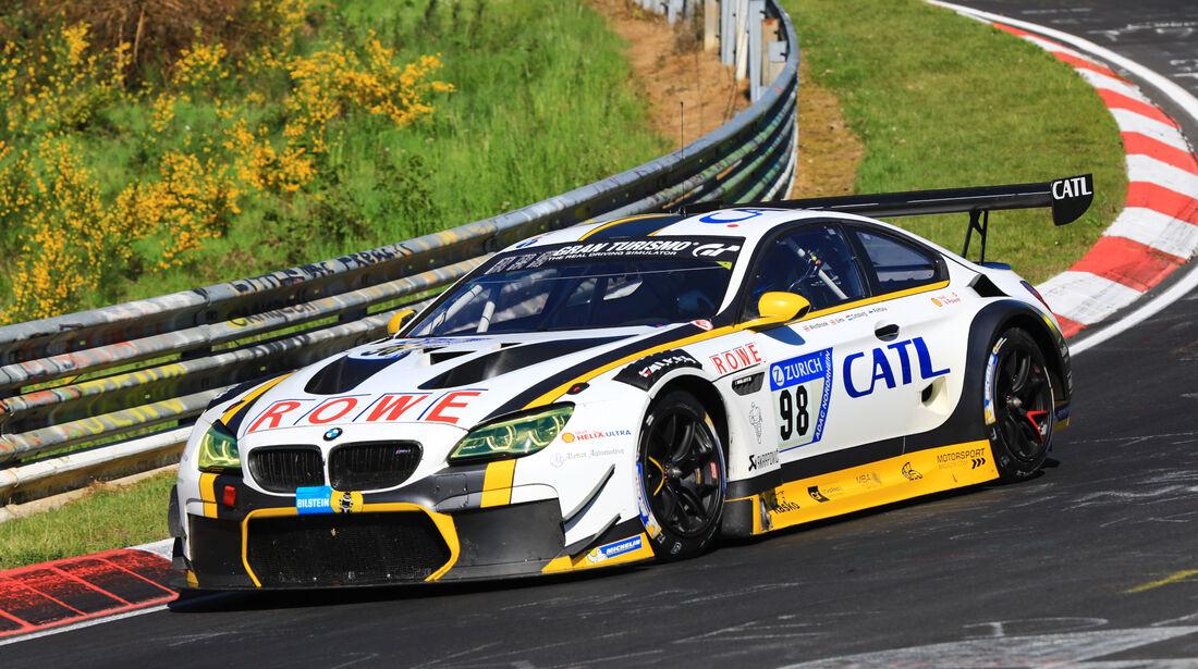 24h-Rennen Nürburgring 2017 - Nordschleife - Startnummer 98 - BMW M6 GT3 - Rowe Racing - Klasse SP 9