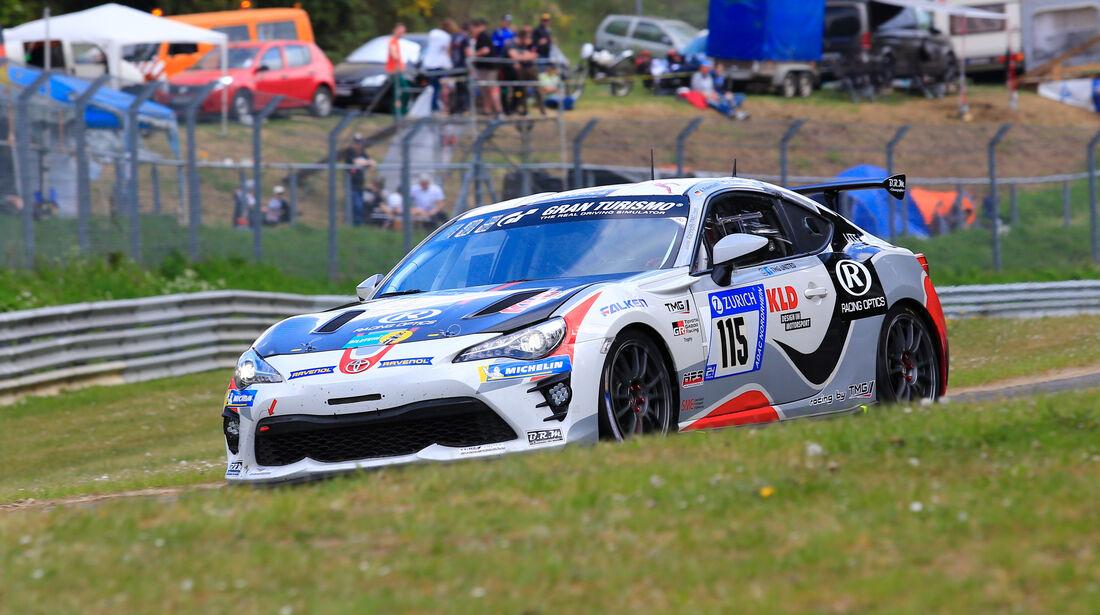 24h-Rennen Nürburgring 2018 - Nordschleife - Startnummer #115 - Toyota GT86 - TMG United (Toyota Motorsport GmbH) - SP3