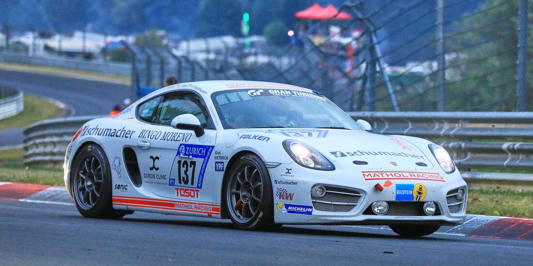 24h-Rennen Nürburgring 2018 - Nordschleife - Startnummer #137 - Porsche Cayman S - Team Mathol Racing e.V. - V6
