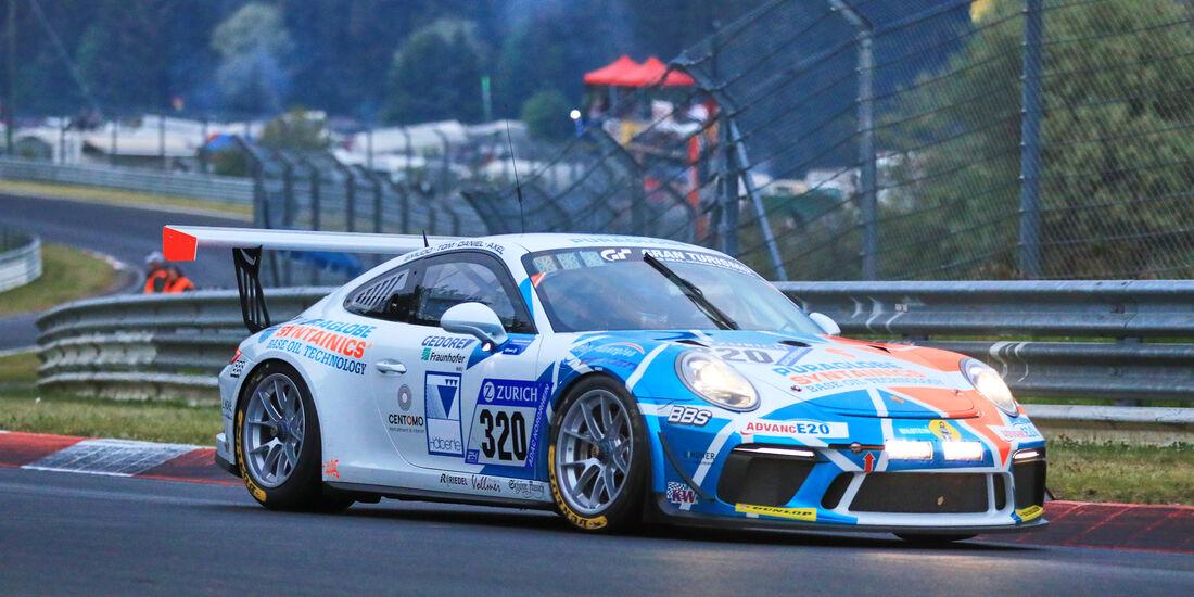 24h-Rennen Nürburgring 2018 - Nordschleife - Startnummer #320 - Porsche 911 GT3 Cup - Care for Climate - AT