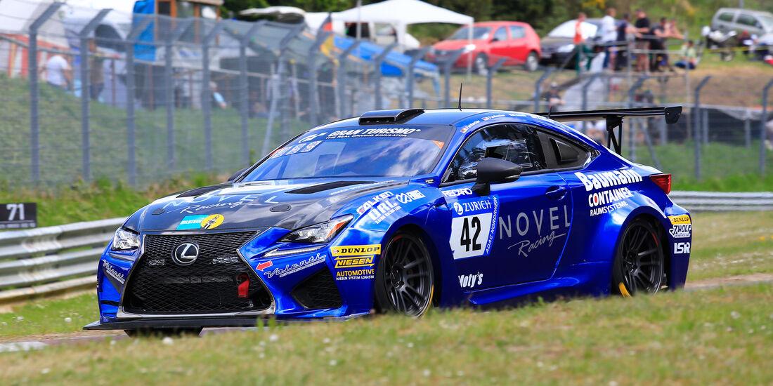 24h-Rennen Nürburgring 2018 - Nordschleife - Startnummer #42 - Lexus RCF - Ring Raceing with Novel - SP8
