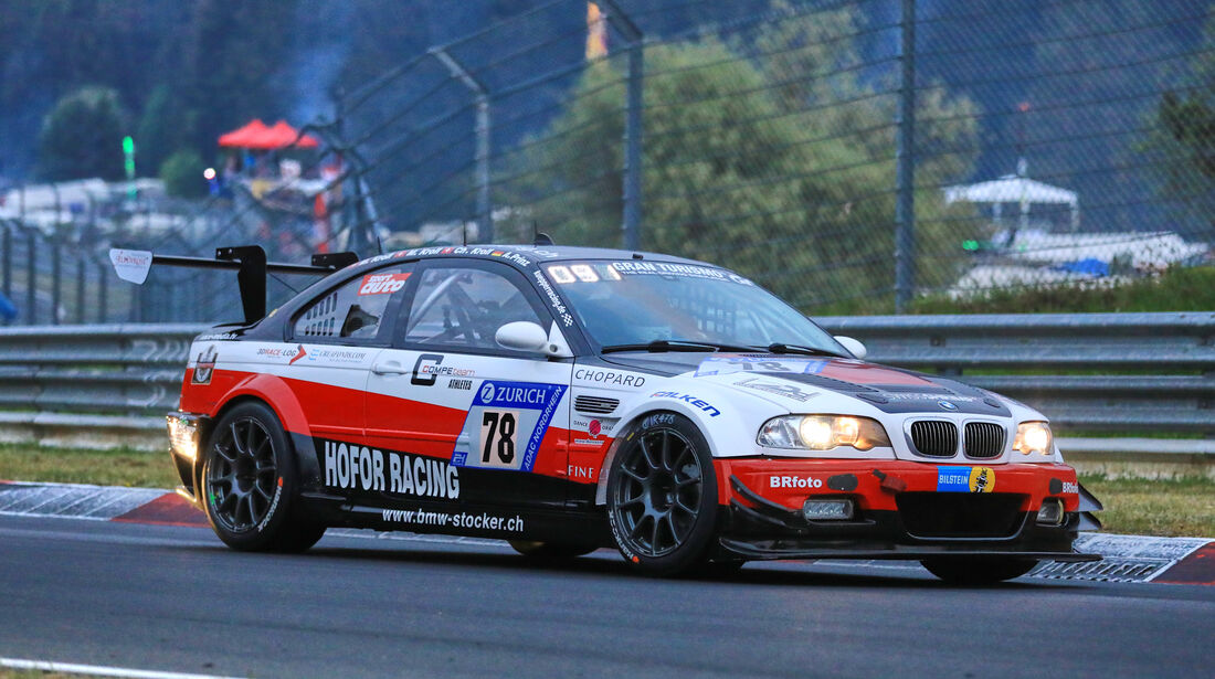 24h-Rennen Nürburgring 2018 - Nordschleife - Startnummer #78 - BMW M3 GTR - Hofor-Racing - SP6