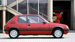 25 Jahre Peugeot 205 GTI