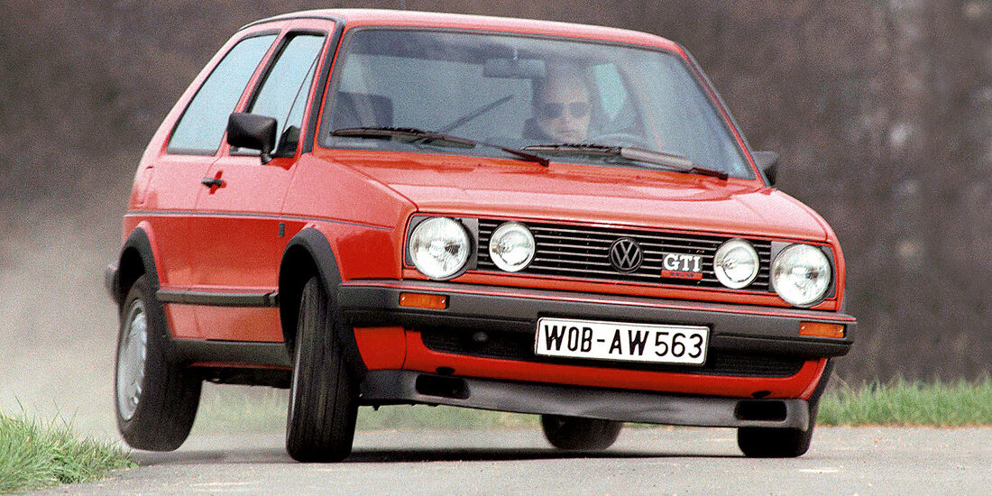 40 Jahre VW Golf, Golf II