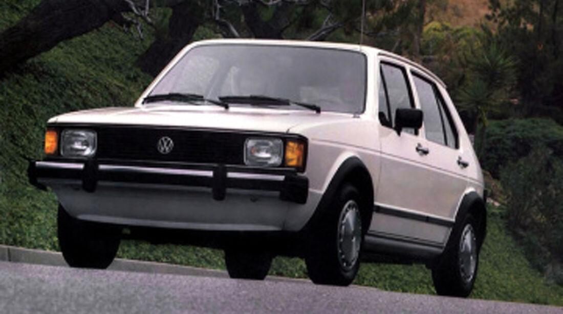 40 Jahre VW Golf, Rabbit