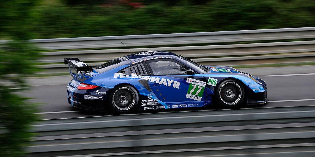 77-Pro-GTE-Klasse, Porsche 911 RSR (997), 24h-Rennen LeMans 2012