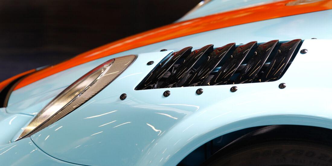 9ff GT9-CS, Frontscheinwerfer