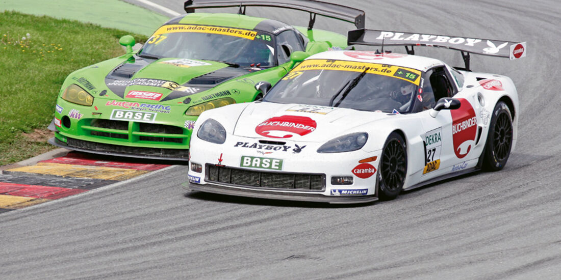 ADAC GT-Masters, Corvette, Frentzen, Hannawald