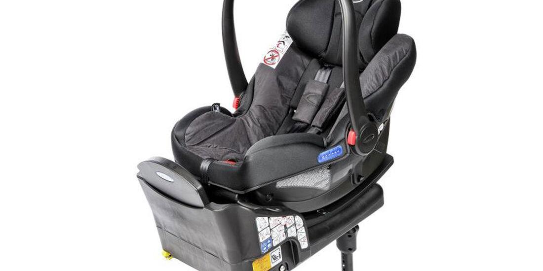 ADAC/ÖAMTC Kindersitz-Test Frühjahr 2018 Graco-Snugride-i-Size