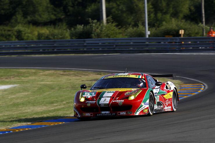 AF Corse - Ferrari 458 Italia - 24h-Rennen - Le Mans 2014 - Qualifikation - GTE-Klasse