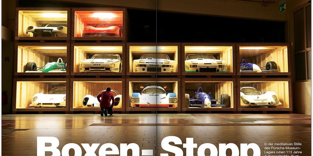 AMS Heft 26 VGL Porsche-Lager