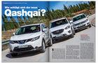 AMS Heft 3 2014 Vergleich Mazda CX-5, Nissan Qashqai, VW Tiguan