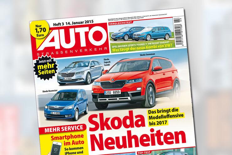 AUTOStraßenverkehr 3 / 2015 Titel
