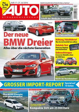 AUTOStraßenverkehr Titel 2016 Heft 17 Vorschau
