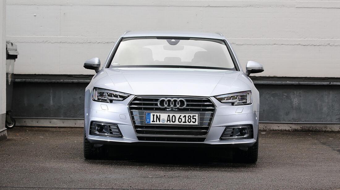 Abgasmessung, Audi A4 Avant 2.0 TFSI
