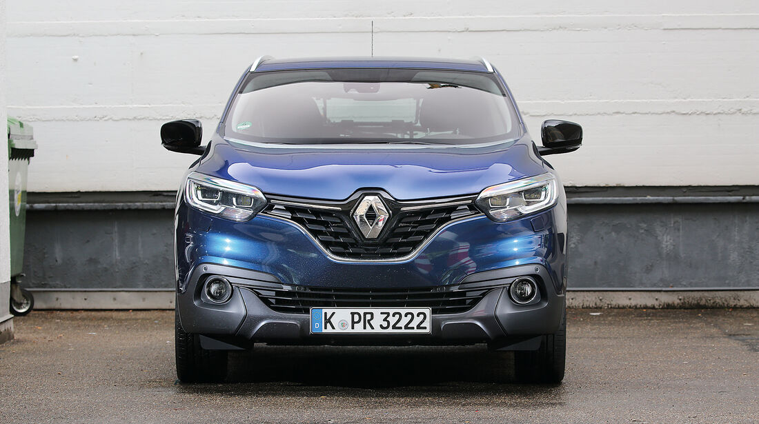 Abgasmessung, Renault Kadjar 1.6 dCi 130