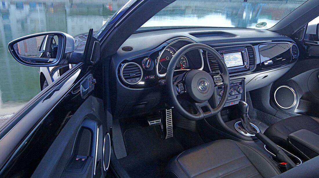 Abt-VW Beetle 2.0 TSI, Cockpit