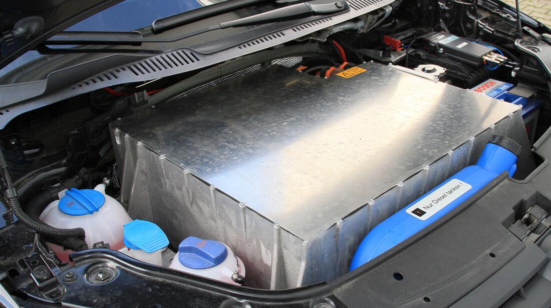 Abt eCaddy - Elektro-Caddy - VW - Elektromobilität - Elektrofahrzeug - Elektroauto - E-Mobilität - Deutsche Post - Antrieb