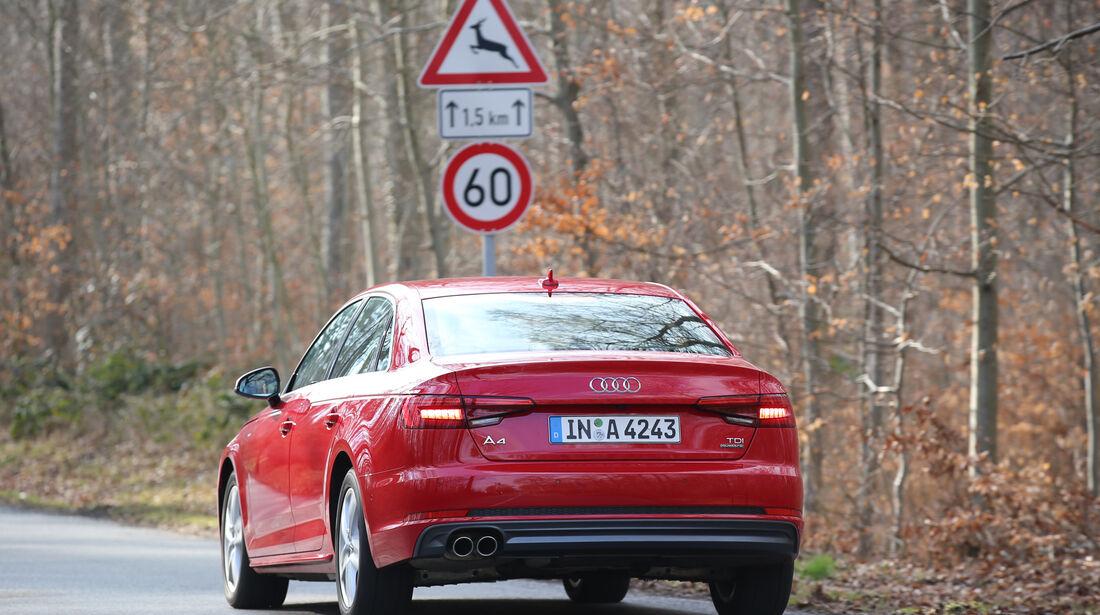 Adaptive Tempomaten, Audi A4
