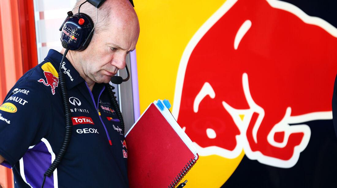 Adrian Newey - Red Bull - Formel 1 - GP Spanien - Barcelona - 9. Mai 2014