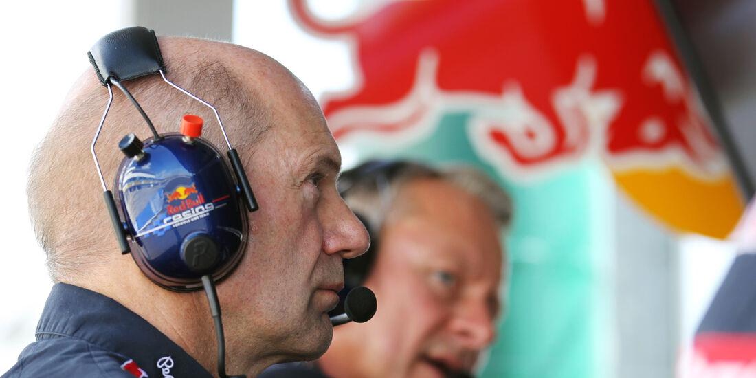Adrian Newey - Red Bull - Formel 1 - GP Ungarn - Budapest - 28. Juli 2012