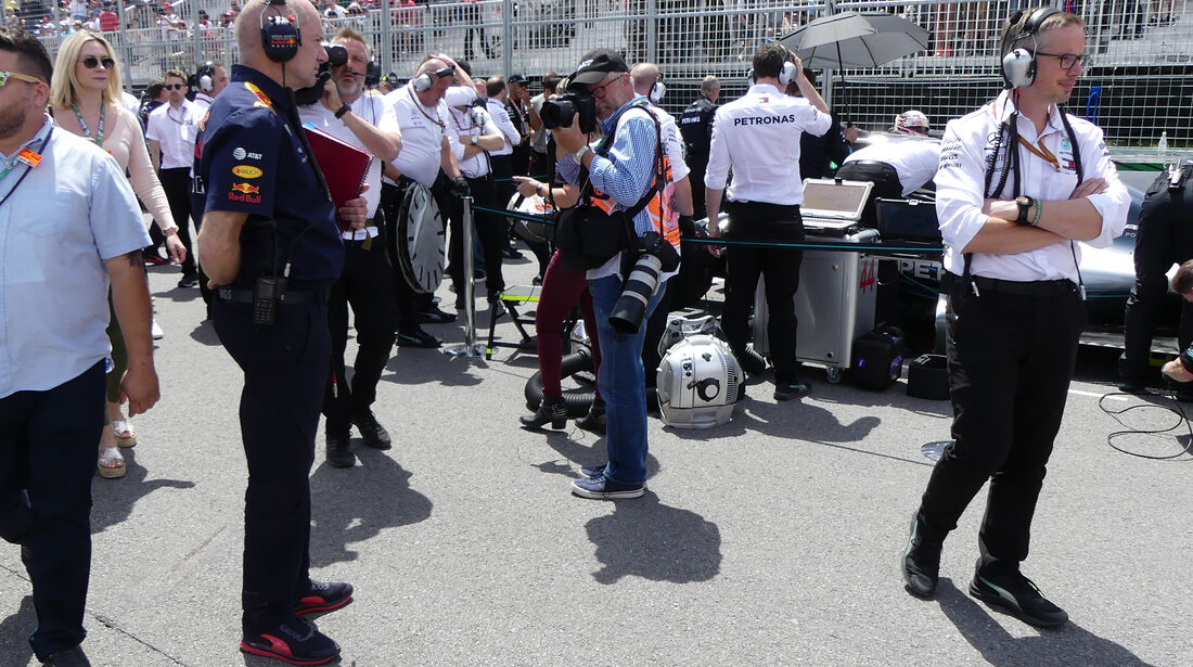 Adrian Newey - Technik - GP Kanada 2018