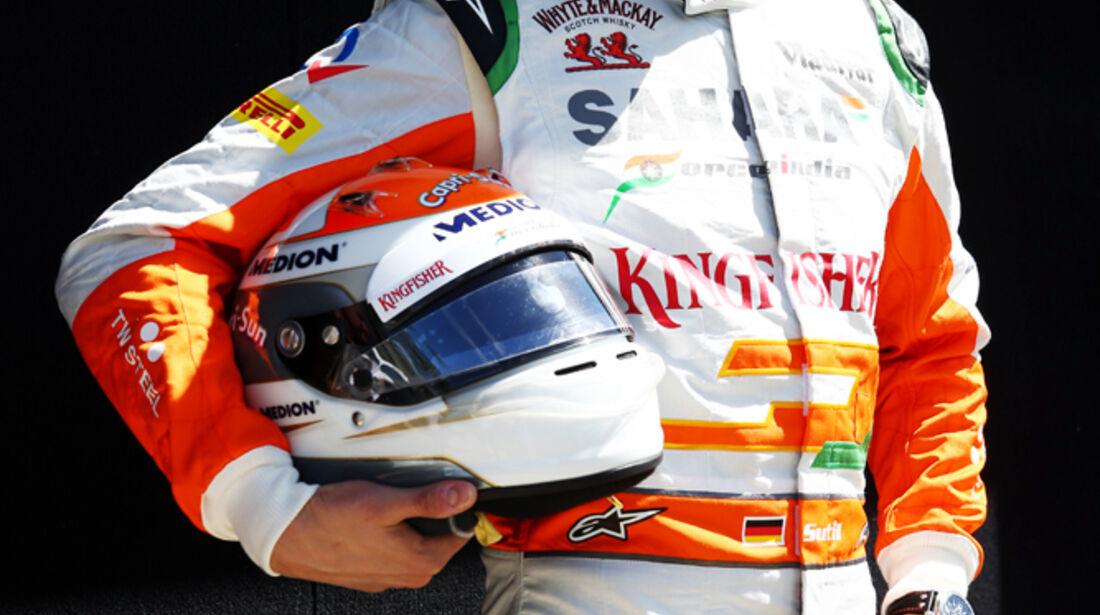 Adrian Sutil - Force India - Formel 1 - GP Australien - 14. März 2013