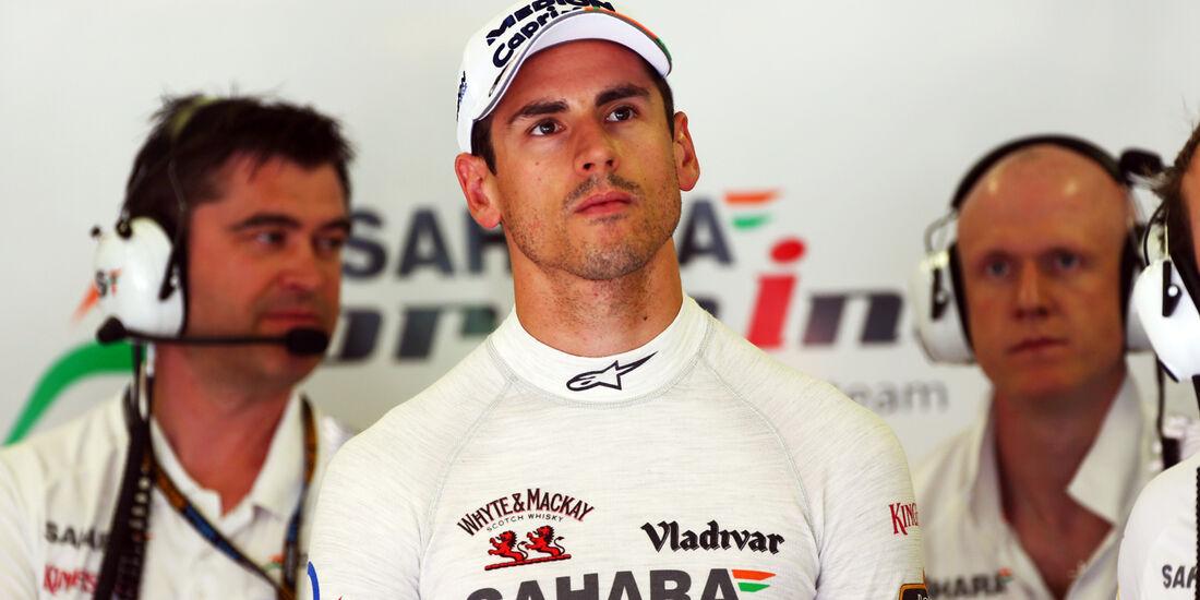 Adrian Sutil - Force India - Formel 1 - GP Ungarn - 26. Juli 2013