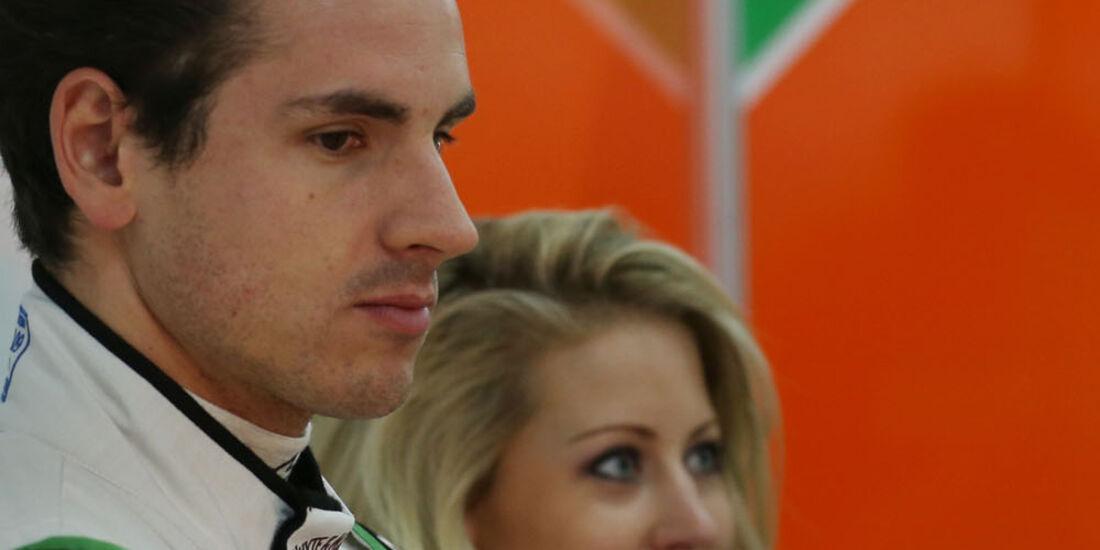 Adrian Sutil, Force India, Formel 1-Test, Barcelona, 21. Februar 2013