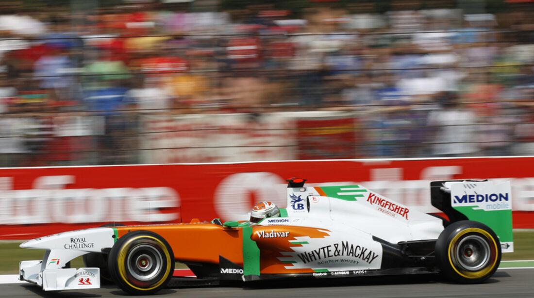 Adrian Sutil Force India GP Italien 2011