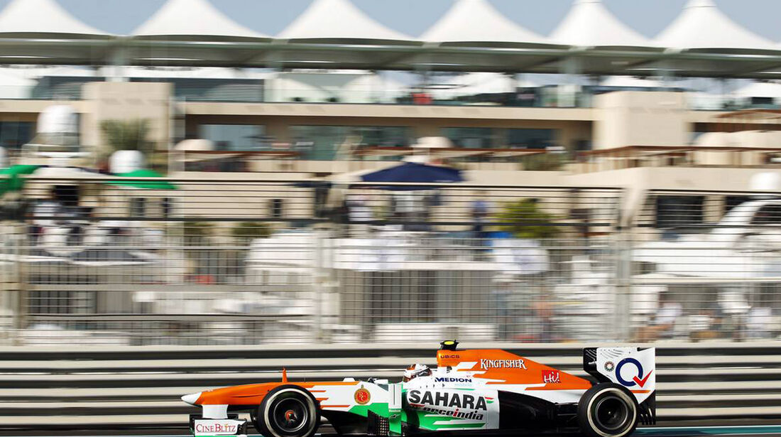 Adrian Sutil - Formel 1 - GP Abu Dhabi - 02. November 2013