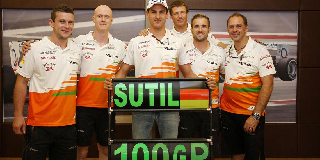 Adrian Sutil - Formel 1 - GP Ungarn 2013