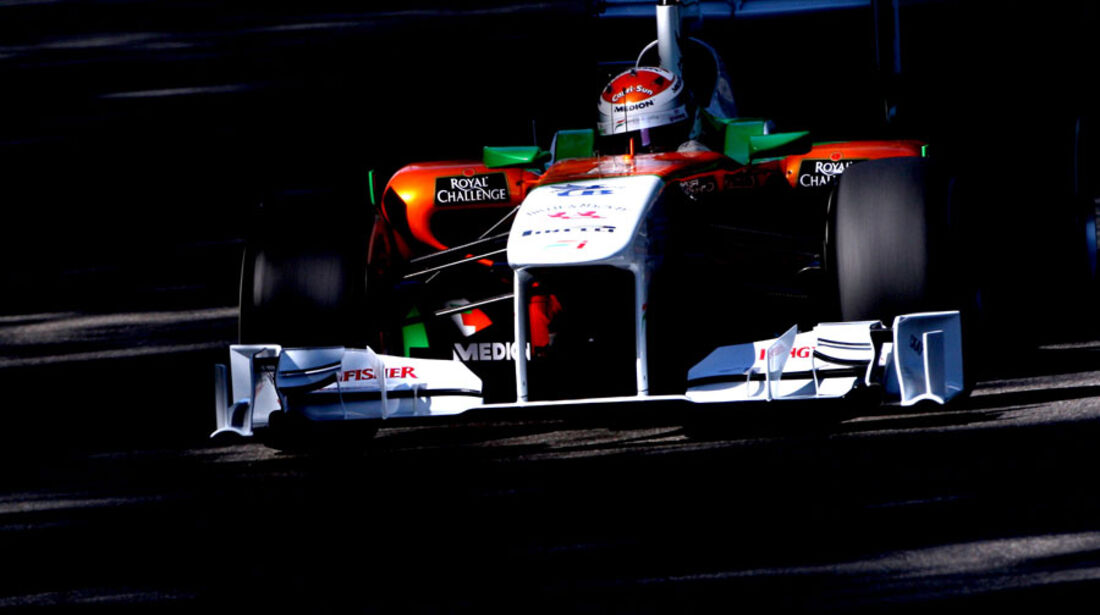 Adrian Sutil - GP Italien - Monza - 9. September 2011