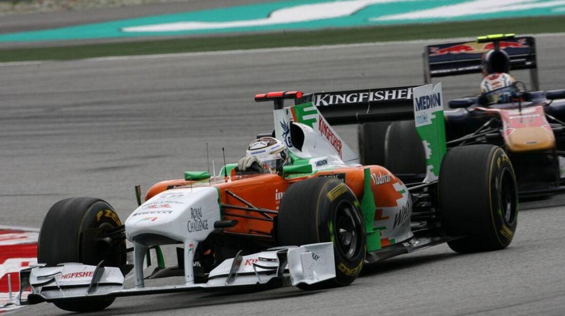 Adrian Sutil GP Malaysia 2011 Formel 1