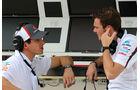 Adrian Sutil - Giedo van der Garde - Sauber - Formel 1 - Test - Bahrain - 28. Februar 2014