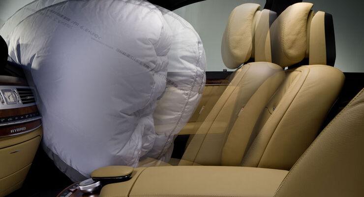 Airbag, Crashtest, Adaptive Prallkissen