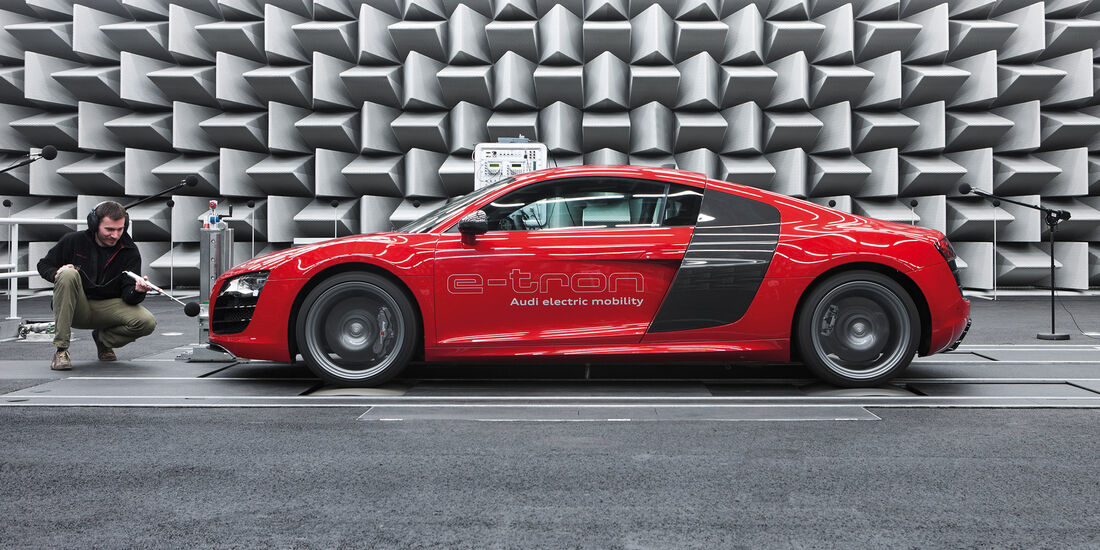Akustische Innovation: Der e-Sound von Audi