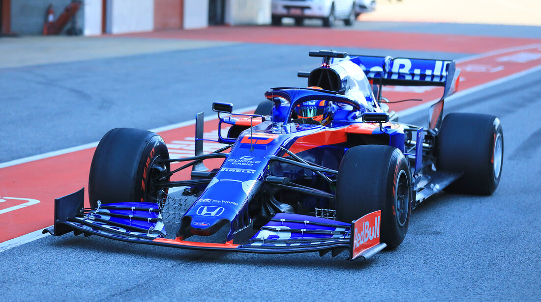 Alex Albon - Toro Rosso - Barcelona - F1-Test - 26. Februar 2019