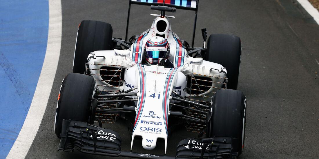 Alex Lynn - Williams - Silverstone-Test - 12- Juli 2016