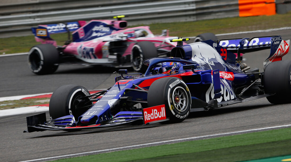 Alexander Albon - Toro Rosso - GP China 2019 - Shanghai