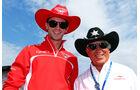 Alexander Rossi & Mario Andretti - Formel 1 - GP Italien - 4. September 2014