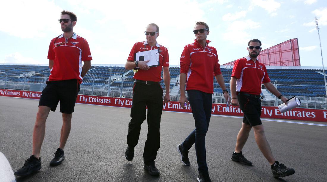 Alexander Rossi - Marussia - Formel 1 - GP Russland - Sochi - 9. Oktober 2014