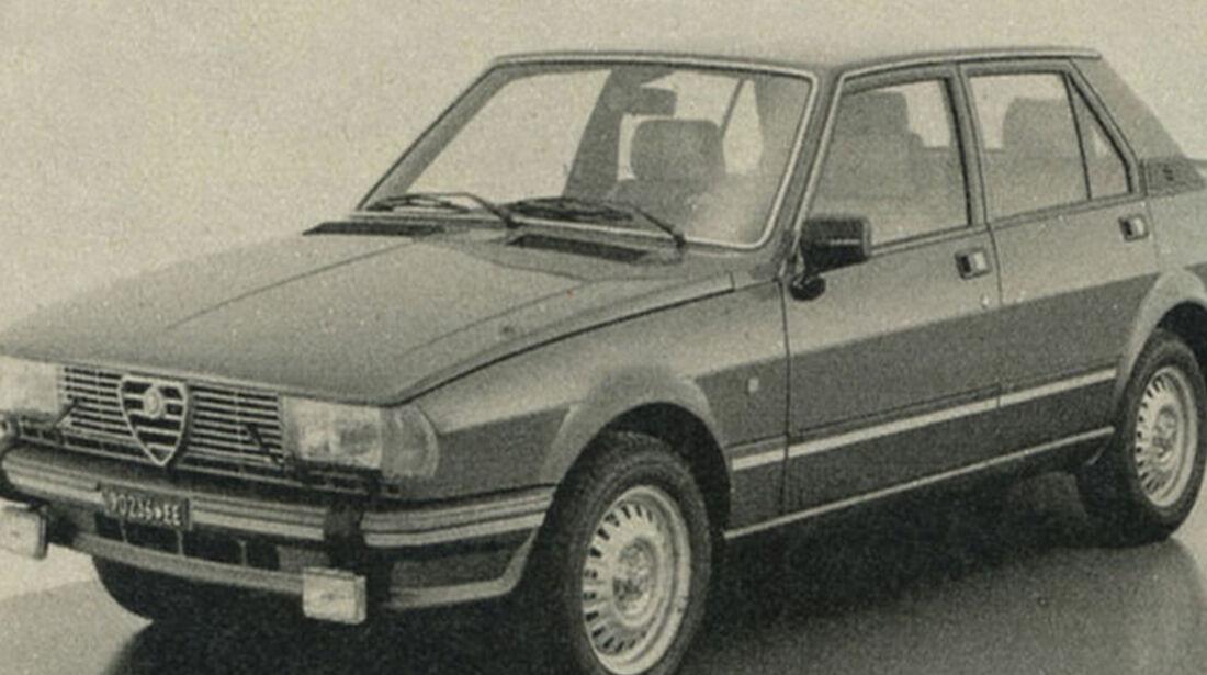 Alfa Giulietta 2.0, IAA 1981