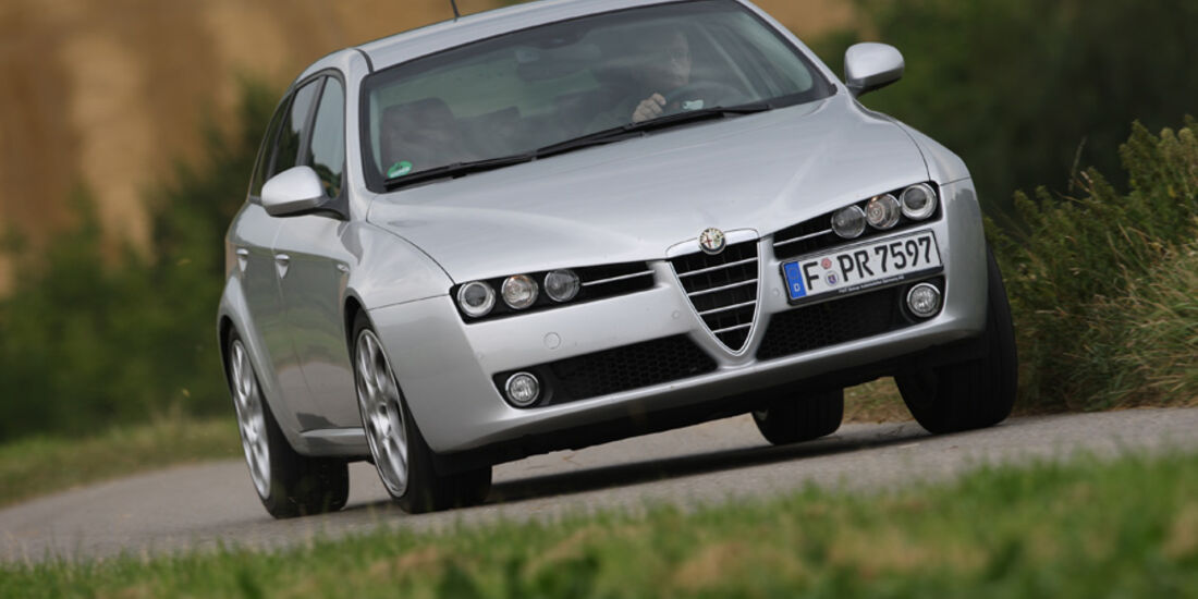 Alfa Romeo 159 Sportwagon, Frontansicht