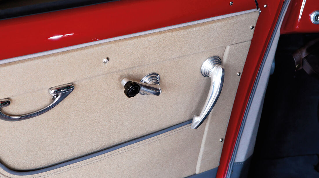 Alfa Romeo 1900 Sprint Coupé Pinin Farina, Türverkleidung