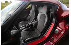 Alfa Romeo 4C, Fahrersitz
